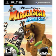 Madagascar Kartz Game Only For PlayStation 3 PS3 Flight With Manual - EE620377
