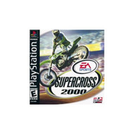 Supercross 2000 For PlayStation 1 PS1 Racing - EE630471