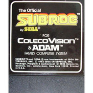 Subroc For Atari ColecoVision Vintage - EE643091
