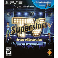 TV Superstars For PlayStation 3 PS3 Music With Manual And Case - EE643507