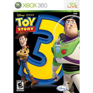 Toy Story 3 The Video Game For Xbox 360 Disney With Manual and Case - EE643826