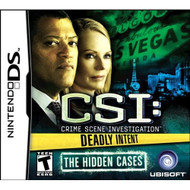 CSI: Deadly Intent-The Hidden Cases For Nintendo DS DSi 3DS 2DS With - EE644069