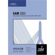 Sam 2003 Assessment And Training For Microsoft Office 2003 Version 3.0 - XX605541