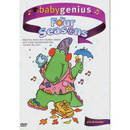 BabyGenius The Four Seasons On DVD with DJ the Dinosaur 4 - XX610817