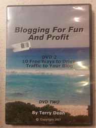 Blogging For Fun And Profit Volume 2 On DVD With Terry Dean - XX613825