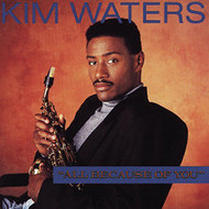 All Because Of You By Kim Waters On Audio CD Album 1998 - XX622343