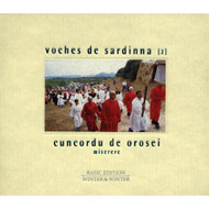 2: Cuncordu De Orosei / Miserere By Voches De Sardinna On Audio CD - XX623641