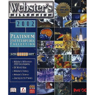 Webster's Millennium 2002 Software - XX628530