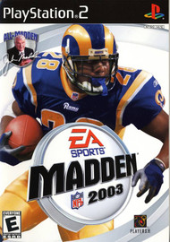 Madden NFL 2003 For PlayStation 2 PS2 Football - XX644615