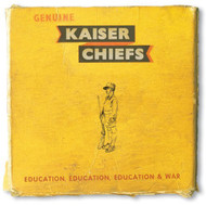 Education Education Education & War By Kaiser Chiefs On Audio CD Album - E509778