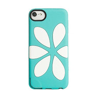 Agent 18 Flowervest Silicone Case For iPod Touch 5G Turquoise Fitted - DD607182