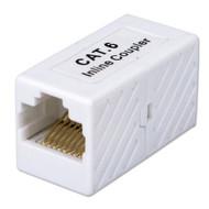 QVS C6C45FF CAT6 Gigabit RJ45 Female To Female Coupler - DD608422