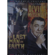The Last Man On Earth & The Devil's Messenger Double Feature On DVD - DD608618