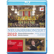 Neujahrskonzert: New Year's Concert 2012 On Blu-Ray - DD633482