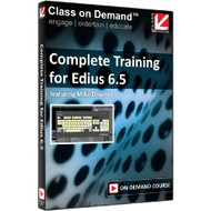 Class On Demand 99931: Complete Training For Edius 6.5 Online - EE471007