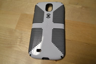 Speck Products CandyShell Grip Samsung Galaxy S4 Case White/Black - EE560486