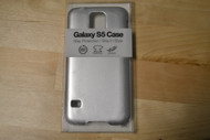 Gems Samsung Galaxy S5 Case Silver Cover Fitted - EE564705