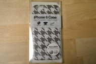 Gems iPhone 6 Case White/Grey Patterned Includes Two Home Buttons - EE564746