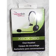 Rocketfish Chat Headset For Xbox 360 Microphone Mic - EE599071