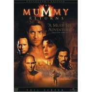 The Mummy Returns Full Screen Edition On DVD With Brendan Fraser - XX632035
