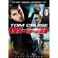 Mission: Impossible III Full Screen Edition On DVD With Tom Cruise - XX635522