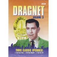 Dragnet Volume 3 Slim Case On DVD With Jack Webb Drama - DD595174