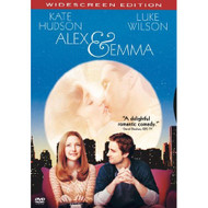 Alex & Emma Widescreen Edition On DVD With Kate Hudson Comedy - DD605043