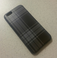 Belkin Mixit iPhone 6 Case Black Plaid Cover Multi-Color Fitted - DD627712