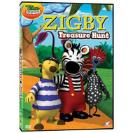Zigby Treasure Hunt On DVD - DD627773