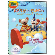 Toopy And Binoo Vroom Vroom Zoom Dress Up Fun On DVD - EE558141