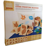 Handmade Modern Cork Printing Blocks  - DD629078