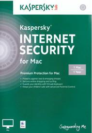 Kaspersky Internet Security For MAC 2014 - 1 MAC - EE566468