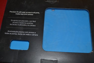 Research In Motion Sky Blue Silicone Skin For BlackBerry Playbook - EE586542