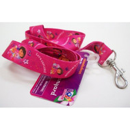 Dora The Explorer Lanyard 18 X .75 Inch Key Leash - EE590721