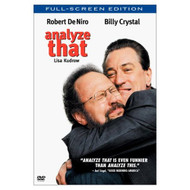Analyze That Full Screen On DVD With Robert De Niro Comedy - DD573091