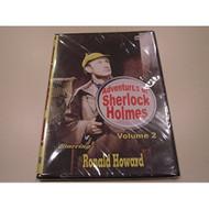 Adventures Of Sherlock Holmes Volume 2 Slim Case On DVD With Ronald - DD576704