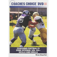 Coaching Football's Zone Offense: Vol #4 Skills And Drills With Stan - EE498368