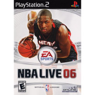 NBA Live 06 For PlayStation 2 PS2 Basketball With Manual And Case - EE631384