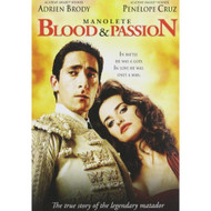 Manolete: Blood & Passion On DVD With Adrien Brody - DD579676