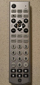 GE Universal Remote With Oversized Buttons Wireless Up To 4 Devices - DD596437