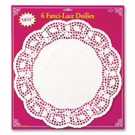 Beistle Fanci-Lace Doilies 14.5-Inch - EE536955