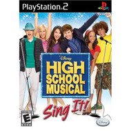 High School Musical: Sing It PS2 Disney Music For PlayStation 2 - EE212484