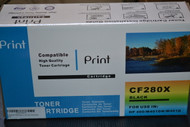 CF280X Toner Cartridge for LaserJet Pro HP 400 M401DN M401D Black - EE522327