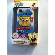 Spongebob Squarepants iPhone 4/4S Yellow Cover Case Multi-Color Fitted - EE559170