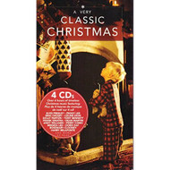 A Very Classic Christmas 4 CD Boxset By Elvis Presley Celine Dion Bing - EE559754