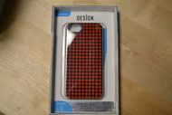 Uncommon Houndstooth Bezel Deflector For iPhone 5 5S SE Black/red Case - EE560270