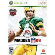 Madden NFL 09 For Xbox 360 Football - EE582460