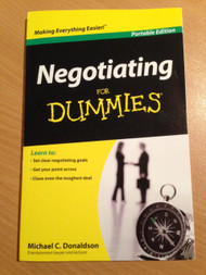 Negotiating For Dummies Portable Edition Michael C Donaldson - E439124