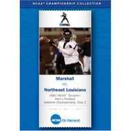 1987 NCAA Division I Men's Football National Championship: Marshall Vs - DD580430