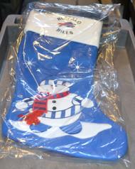 Buffalo Bills Snowman Fabric Stocking Christmas - EE500633
